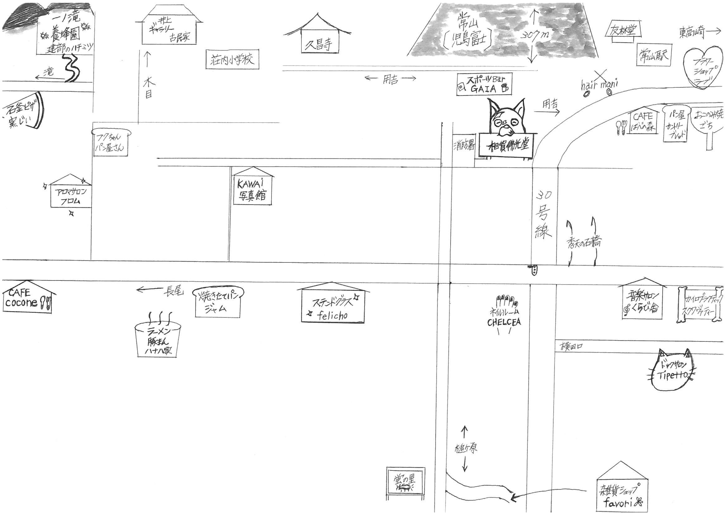 ダガジグ&ロドリゲス map